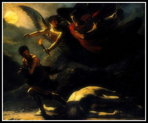 Justice and Divine Vengeance Pursuing Crime by Pierre-Paul Prud'hon. (1808).
