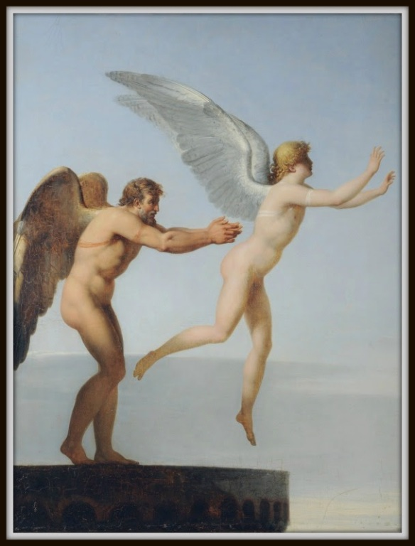 """""""Icarus and Daedalus"""", by Charles Paul Landon"""